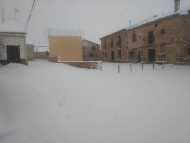 La nieve llega a nuestro pueblo