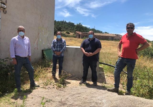 El Gobierno regional realiza mejoras en el sondeo de para garantizar el abastecimiento de agua