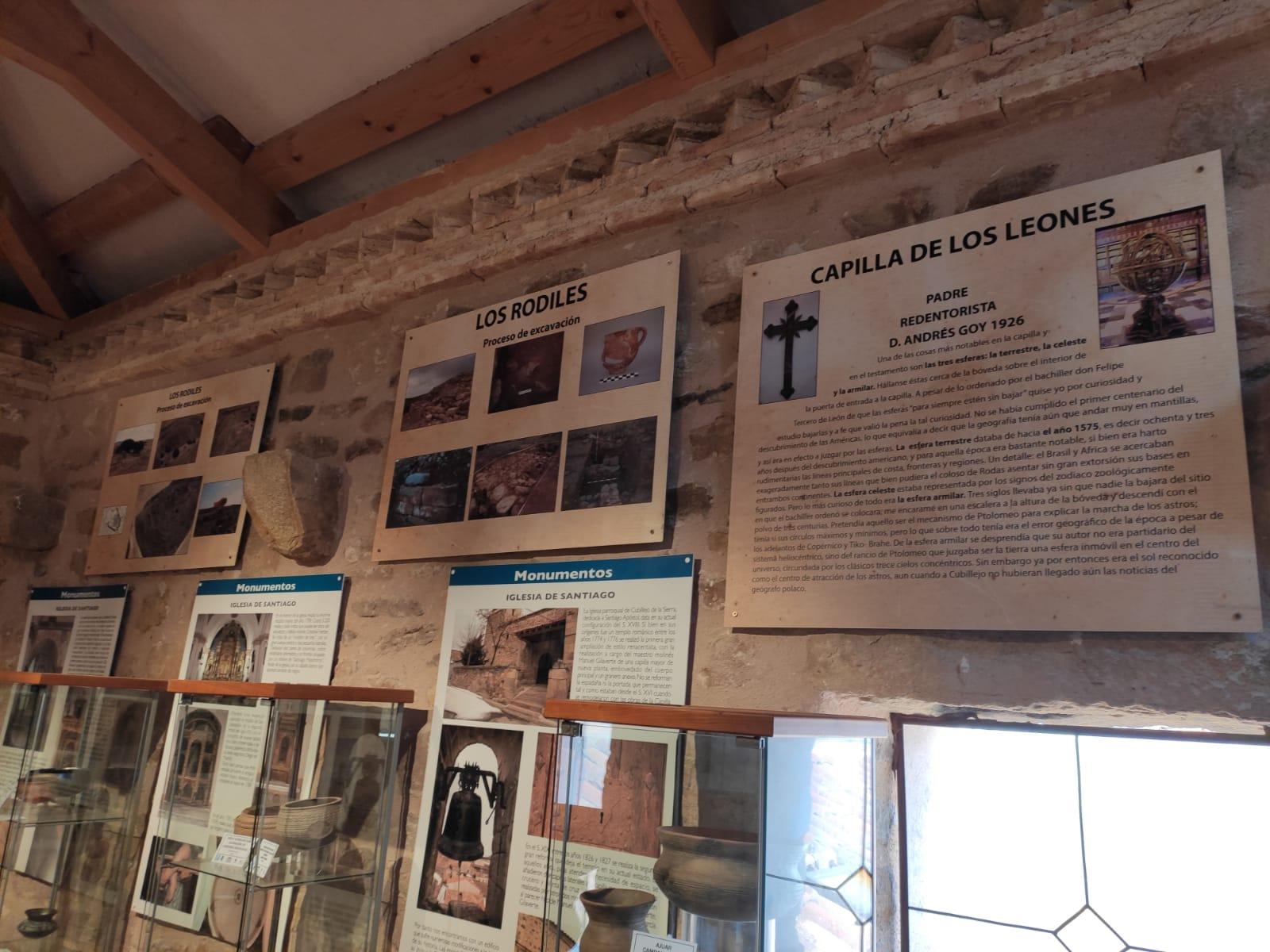Se instalan seis nuevos paneles informativos en el Torreón de los Ponce de León